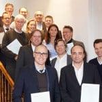Erfolgreiche Teilnehmer Fortbildung Wirtschaftsmediation für internationale Immobilienwirtschaft