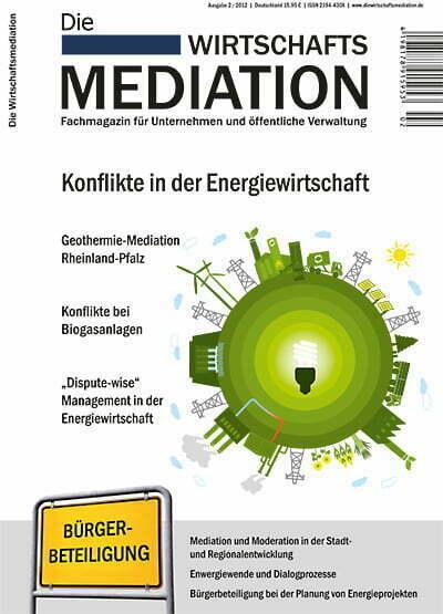 Fachmagazin Die Wirtschaftsmediation
