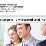 Deutsch-Amerikanische Handelskammern